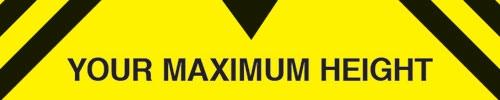 Custom Maximum Height Traffic Signs
