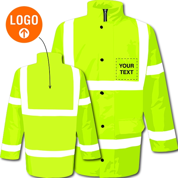 Custom Hi-Vis Motorway Jacket