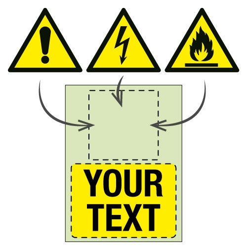 Custom Nite-Glo Photoluminescent Safety Signs
