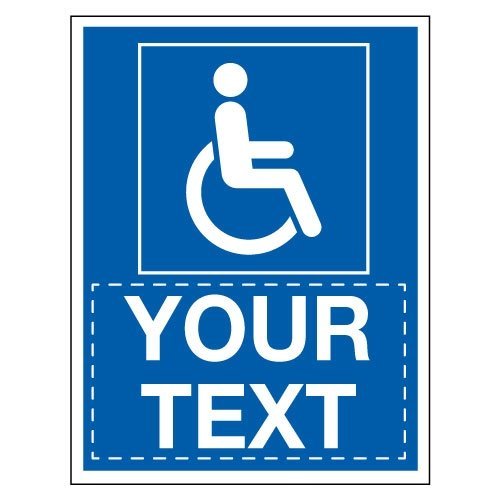Custom Disabled Parking Signs