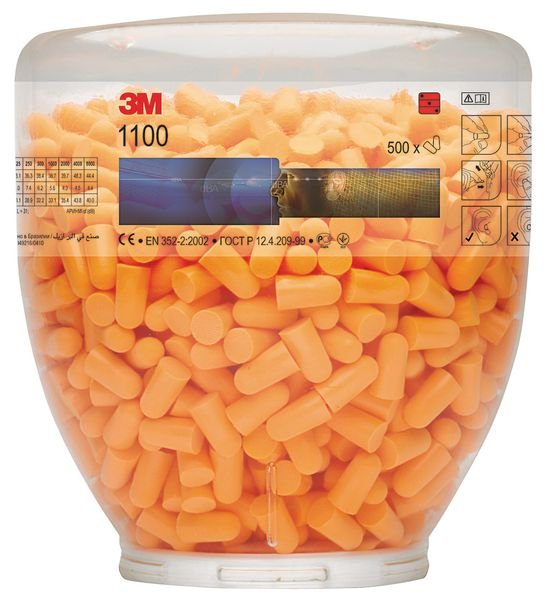 3M™ E-A-R™ 1100 37dB Single-Use Ear Plug Refill