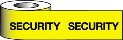 Barrier Warning Tapes - Security