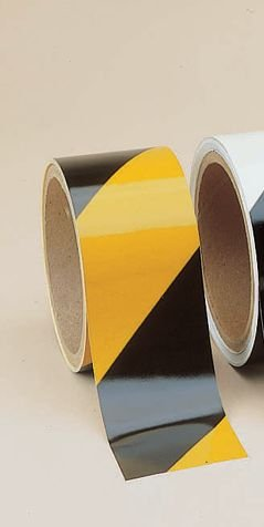 Reflective Black/Yellow High Performance Warning Tapes