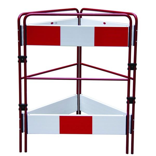 Three Sided Temporary Safety Barrier