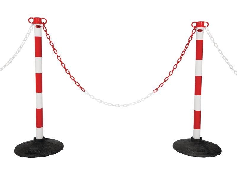 JSP® Plastic Post & Chain Barrier Kits