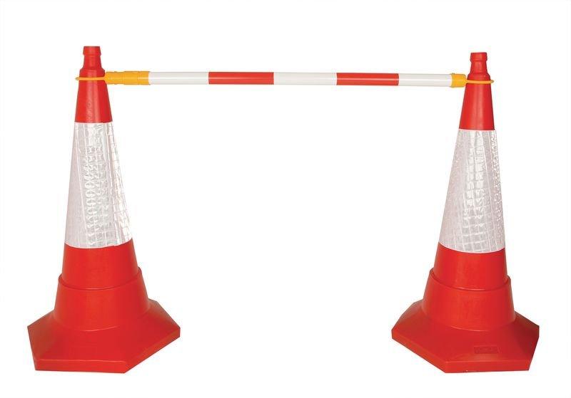 Retractable Cone Bar Barrier