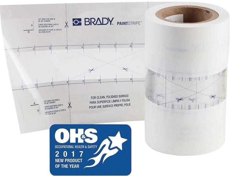 Brady PaintStripe Line Marking Stencil