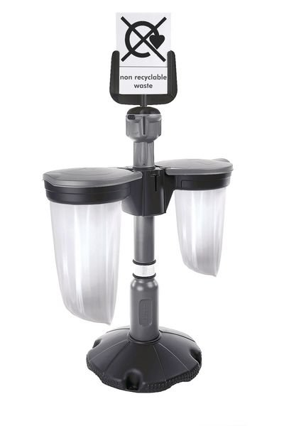 Skipper™ General Waste Station with Post and Base