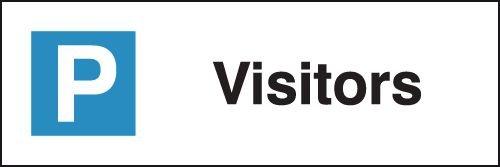 Visitors - Parking Bay Signs