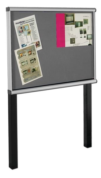 SCROLL Post-Mounted Exterior Showcases