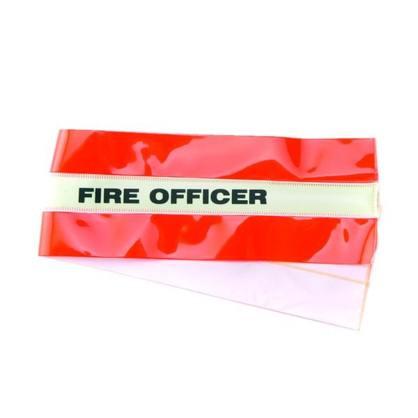 High-Visibility Fire Officer Armband