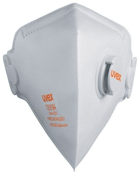 Uvex® silv-Air C - Flatfold Dust Masks FFP2