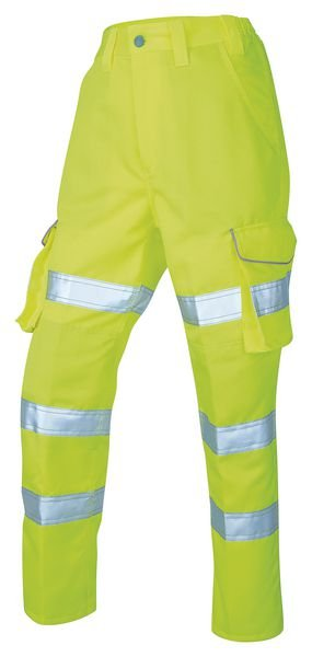Ladies Poly-Cotton Cargo Trouser