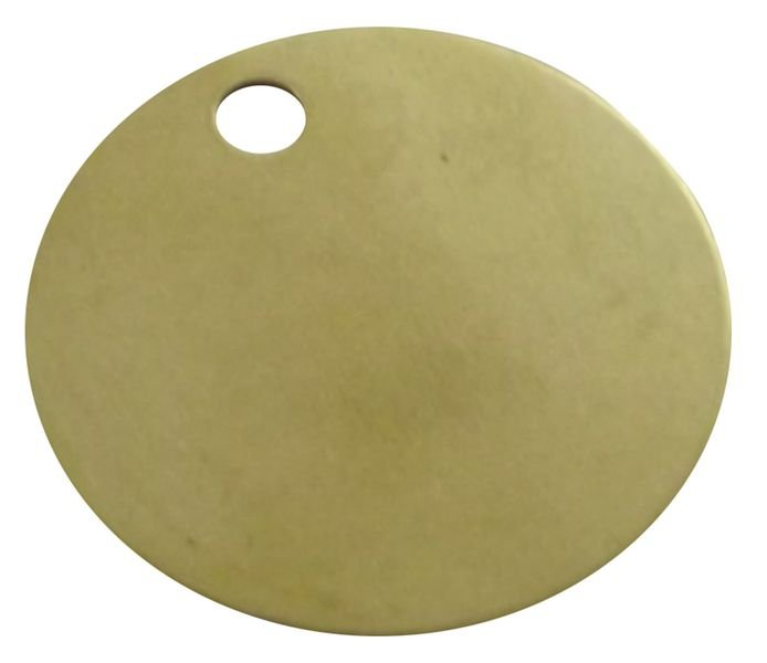 Blank Brass Valve Tags