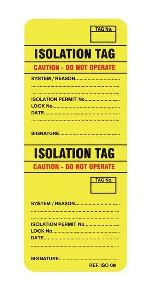 Scafftag® 2-Part Isotag®