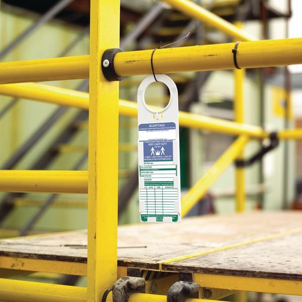 Scafftag Tower holder and inserts Tag Kit