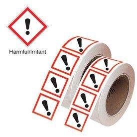 Harmful/Irritant - GHS Symbols On-a-Tape