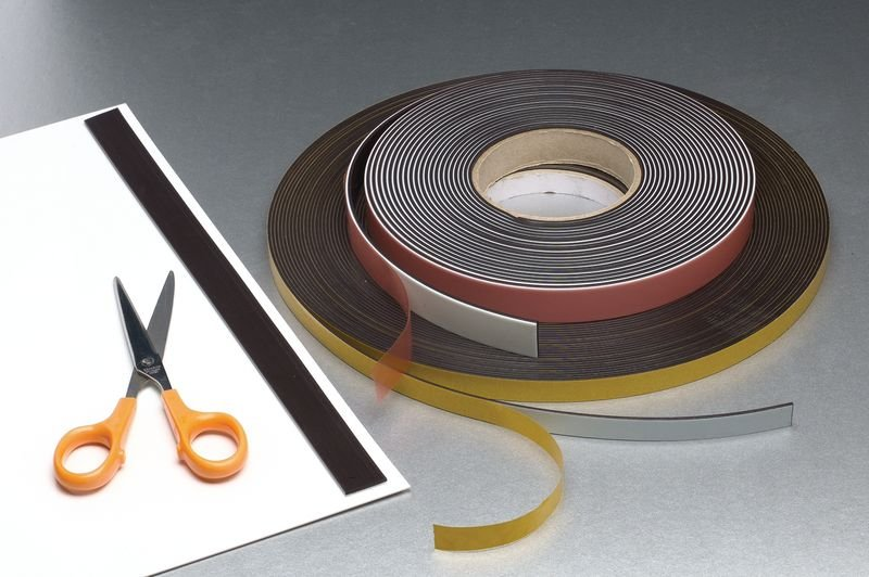 Magnetic Self-Adhesive Strips