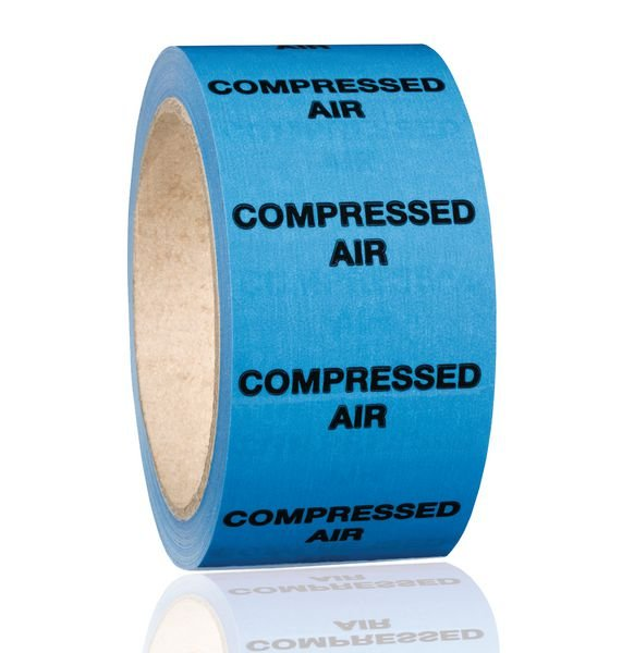 British Standard Pipeline Marking Tape - Compressed Air