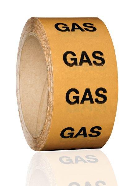 British Standard Pipeline Marking Tape - Gas