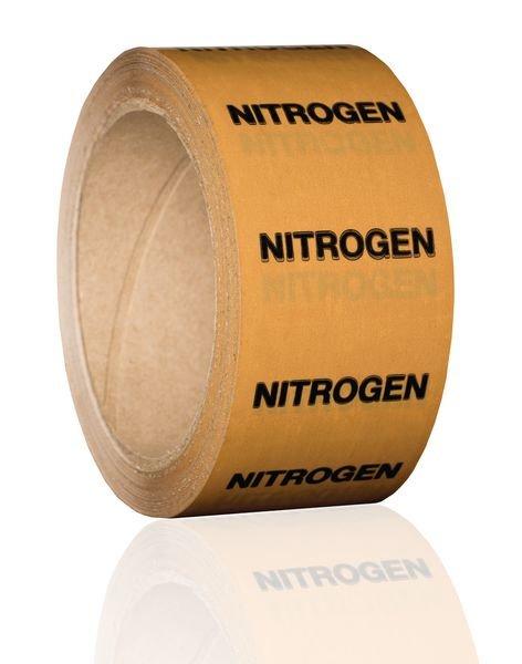 British Standard Pipeline Marking Tape - Nitrogen