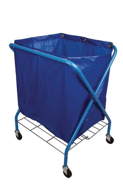 Folding Waste Cart With Bag