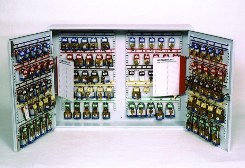 Padlock & Key Cabinets