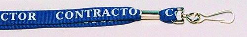 Breakaway' Badge Lanyards - Contractor