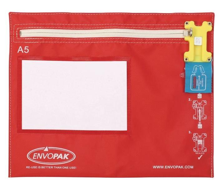 Envopak Re-Usable Security Bags - A5