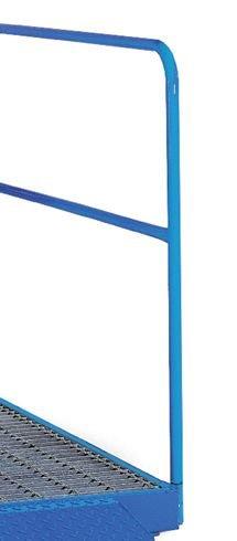 Sump Flooring - Optional Safety Rail