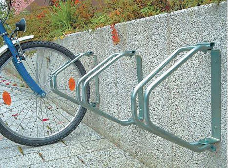 Wall-Mounted Bicycle Rack - 1 Berth