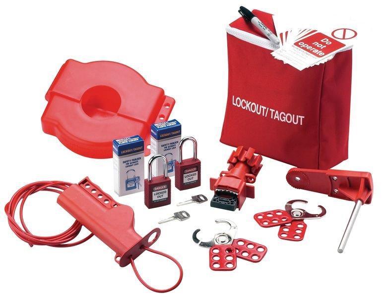 Universal Lockout/Tagout Starter Kit