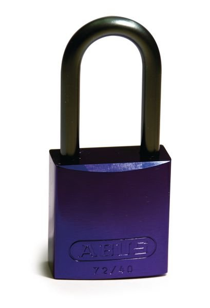 Coloured Aluminium Padlocks