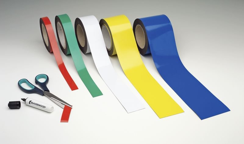 Magnetic Easy Wipe Racking Strips