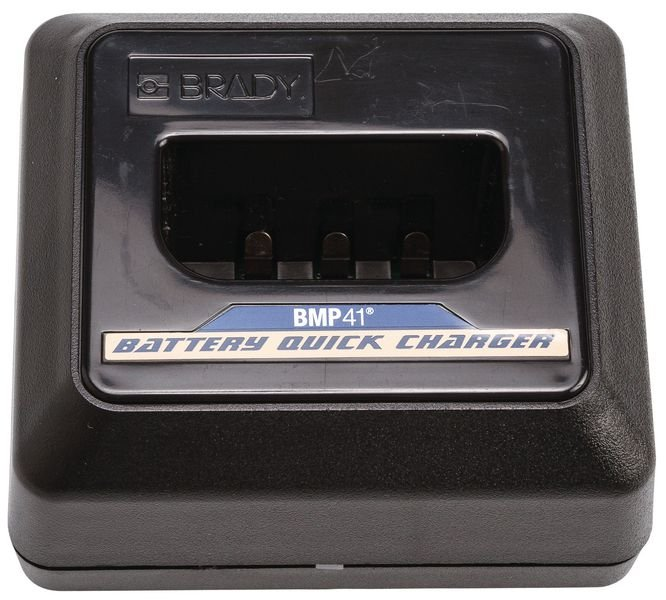 Brady BMP41 UK Quickcharger