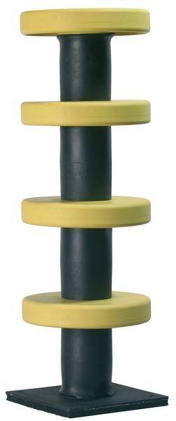 Steel & Rubber Impact Protector Column