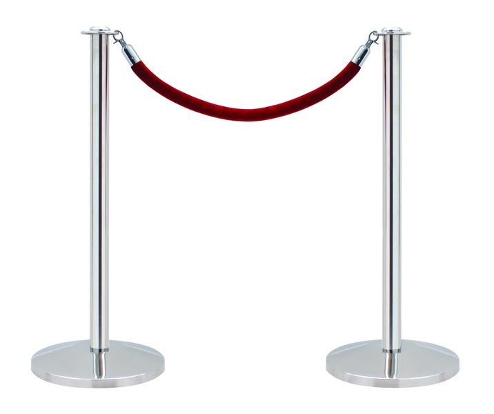 Rope & Post Barrier System - Pack of 2 Posts