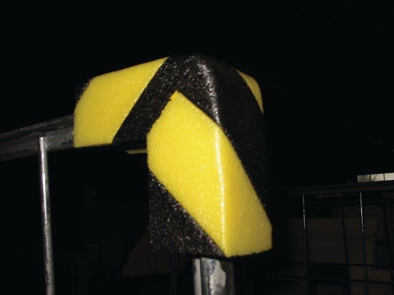 100mm Corner Protector Safety Bumper