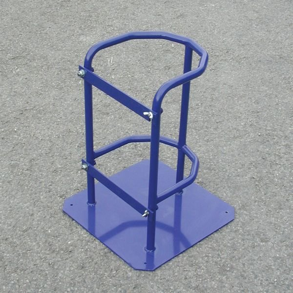 Cylinder Stand with Hinge Latch