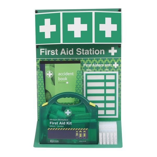 First Aid Stations - Stocked