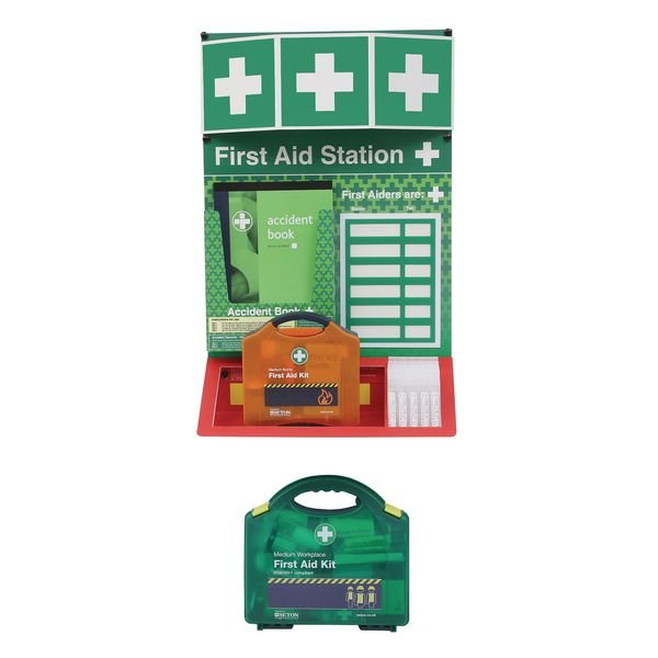 Combined First Aid & Burns Stations