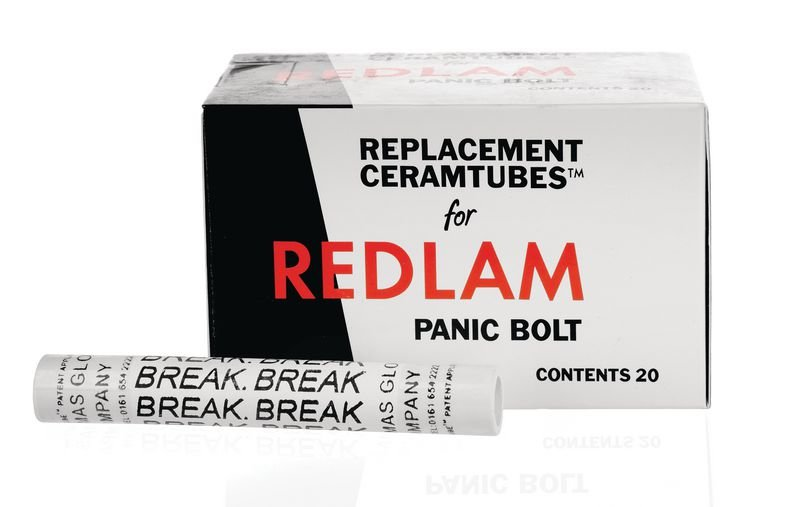 Panic Bolt Unit - Ceramic Tubes