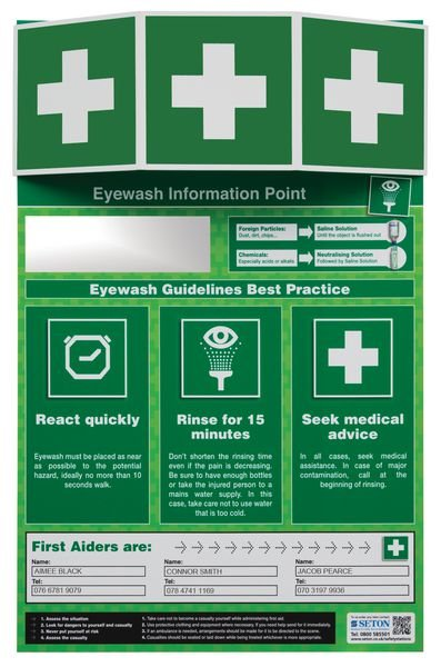Eye Wash Information Point