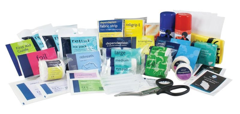 Large Sports First Aid Kit Refill
