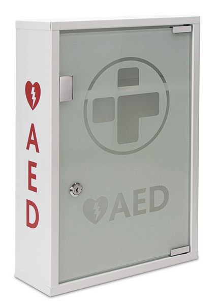 Wall-Mount AED Defibrillator Cabinet