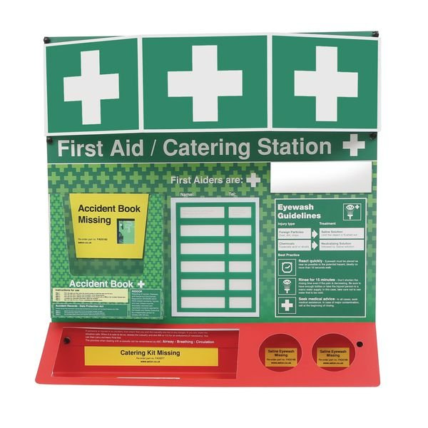 First Aid Catering Stations - Unstocked