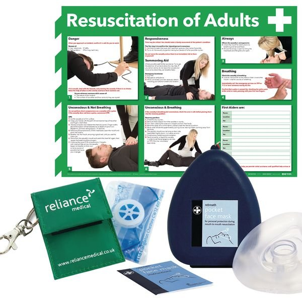 Resuscitation First Aid Pack