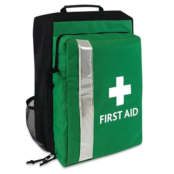 Portable First Aid Rucksack With Detachable Kit