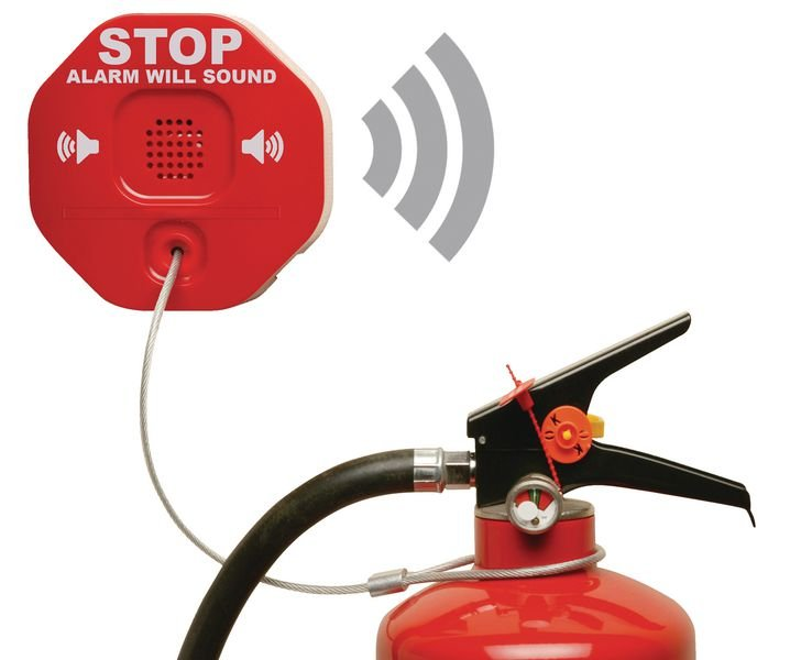 Fire Extinguisher Wireless Theft Stopper