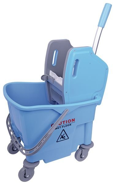 25 Litre Wheeled Bucket with Wringer